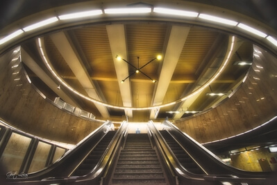 Brussels photo guide - Aumale Subwaystation, Brussels