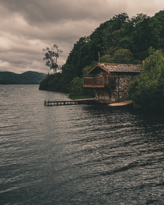 pictures of Lake District - Duke of Portland Boathouse, Ullswater, Lake District