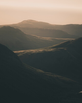 images of Lake District - View Over Buttermere and Crummock Water