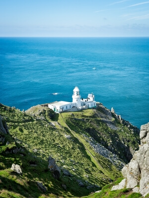 Devon instagram locations - Lundy Island - north west lighthouse