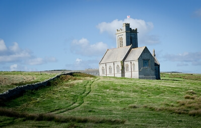 Devon photography locations - Lundy Island - St Helens church