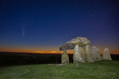 photos of South Wales - Pentre Ifan Burial Chamber