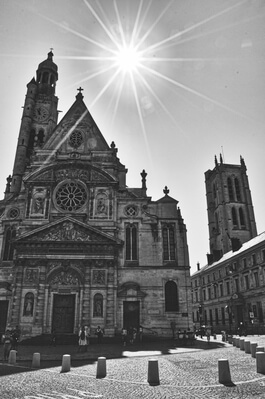 photography locations in Ile De France - Saint-Etienne de Mont - Exterior