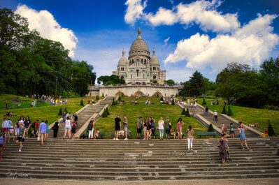instagram spots in Ile De France - Sacre Coeur, Paris