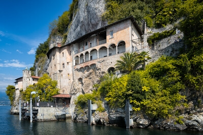 photography spots in Lombardia - Santa Catarina - the monastery in the cliff