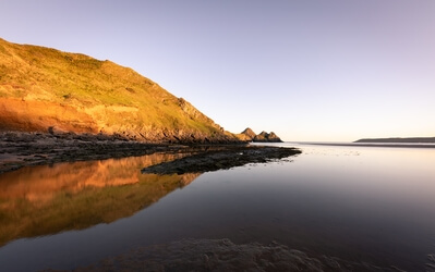 images of South Wales - Three Cliffs Bay