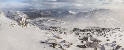 pictures of Lake District - Bowfell (Bow Fell)