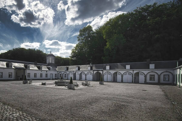 The stables at the Gardens of the Seneffe Castle