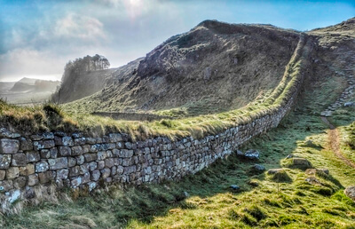 Northumberland photography spots - Hadrians Wall