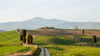photography locations in Tuscany - Agriturismo A Terrapille - Gladiator's Villa