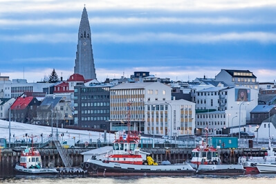 photography locations in Iceland - Reykjavik Harbor