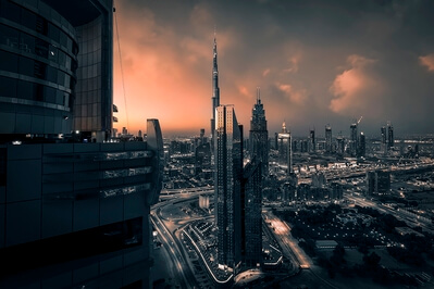 photography spots in Dubai - Dubai Carlton Downtown Hotel