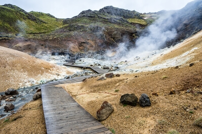 pictures of Iceland - Seltun Geothermal Area at Krýsuvík