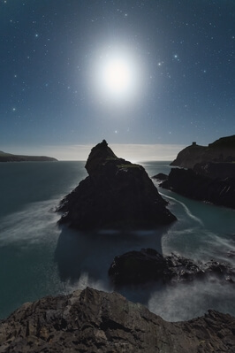 photography locations in South Wales - Abereiddy Blue Lagoon