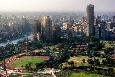 Egypt photography locations - View from Cairo Tower