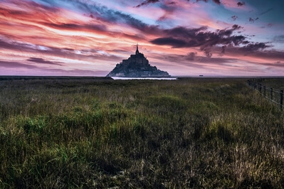 photography locations in France - Mont Saint-Michel