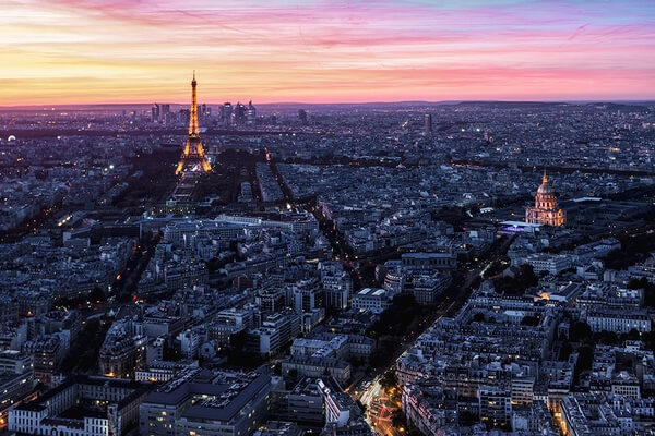 Enjoy the scene of Paris and shot from above Montparnasse Tower - pay ticket .. there are small hole open windows u can only shot through .. lots of ppl u need to avoid moving ur tripod ,, be respectful and kind.