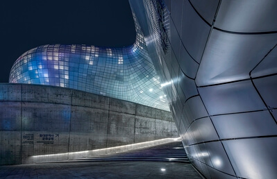 South Korea photography locations - Dongdaemun Design Plaza 동대문디자인플라자