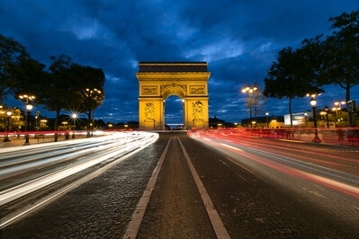 Ile De France photography spots - Arc de Triomphe