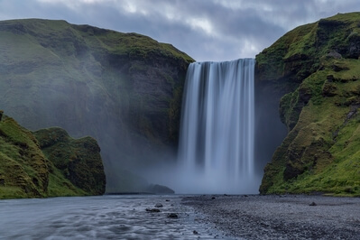 pictures of Iceland - Skógafoss Waterfall