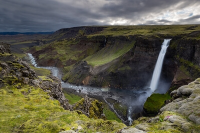photo spots in Iceland - Haifoss