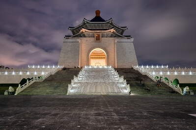 photo locations in Taiwan - Taipei Liberty Square and National Chiang Kai-shek Memorial Hall