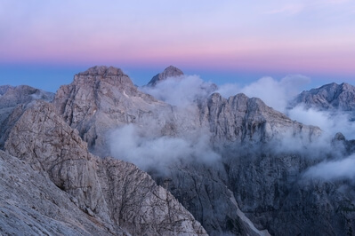 Triglav National Park photography locations - Prisank / Prisojnik (2547m)