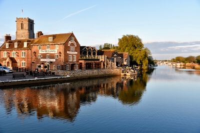 pictures of Dorset - River Frome at Wareham