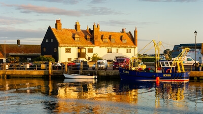 images of Dorset - Mudeford Quay