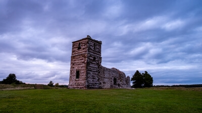 pictures of Dorset - Knowlton Church & Earthworks