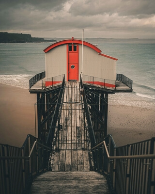 images of South Wales - Old Lifeboat Station