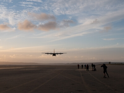 images of South Wales - RAF Beach Landing Exercises
