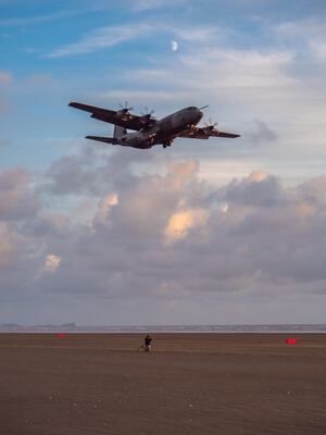 pictures of South Wales - RAF Beach Landing Exercises
