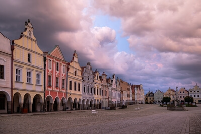 Czechia photography locations - Zacharias of Hradec Square