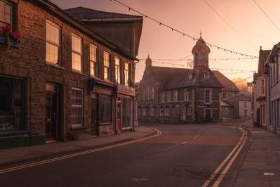 Carmarthenshire instagram locations - Newcastle Emlyn Market Square
