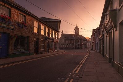 photos of South Wales - Newcastle Emlyn Market Square