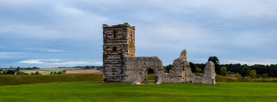 photos of Dorset - Knowlton Church & Earthworks