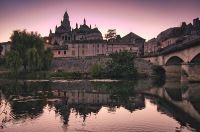 Saint Front Cathedral , Périgueux - view from across the river