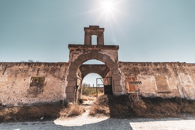 Greece photography locations - The Old Silk Factory