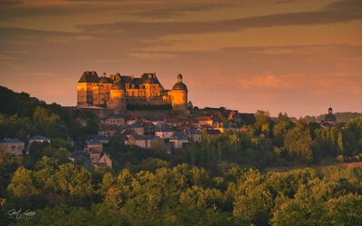 Hautefort photography spots - Chateau de Hautefort (exterior - distant views)