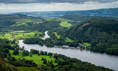 pictures of Lake District - Gummer's How