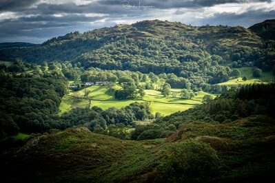images of Lake District - Loughrigg fell - summit