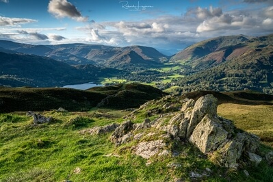 pictures of Lake District - Loughrigg fell - summit