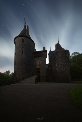 photography locations in South Wales - Castell Coch - Exterior