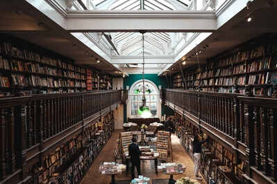 photos of London - Daunt Books