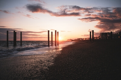 pictures of Brighton & South Downs - West Pier ruins