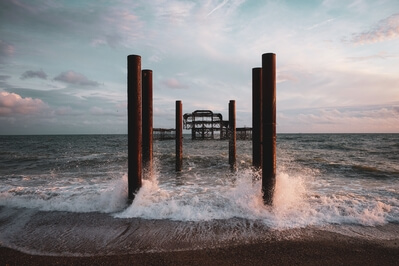 photos of Brighton & South Downs - West Pier ruins