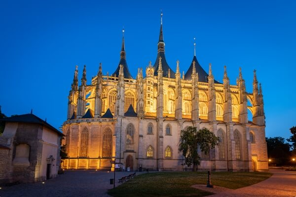 St. Barbara's Church in Kutná Hora