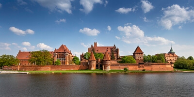instagram spots in Poland - Malbork Castle