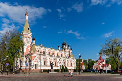 Belarus photography locations - St Basil's Cathedral in Grodno